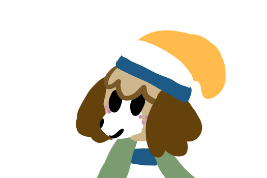 Digby Animal Crossing Pocket Camp by stangeranfanficion