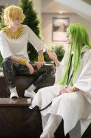 fate grand oreder: gilgamesh and enkidu by 69-KAIT0