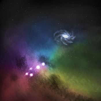 56/365 The Rainbow Constellation by Xypter