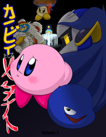 Kirby and Meta Knight vol. 1 Cover by Kare-Bear117