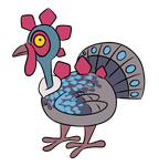 Turkeysaurus by Ascynd