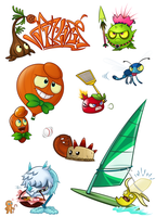 PVZ2 plants Stuff4 by NgTTh