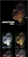 lighting Actions by anaRasha-stock