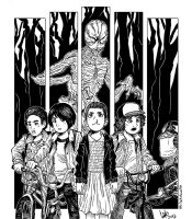 Stranger Things by LinkDoodle