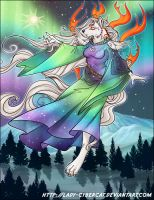 TLDragon 's Okami Aurora Commission by lady-cybercat