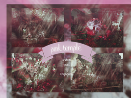 Pink Temple Texture Pack by 0rgagasm