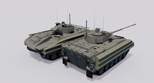 M150 Zealot Tracked Armored Vehicle by TheoComm