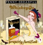 Penny Dreadful Brona Crofft  WhiskeyOs by E-Ocasio