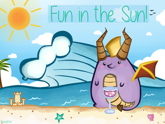 (Spyro) Fun in the Sun! by KrazyKari