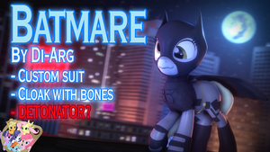 [DL] Batmare Suit by DI-ARG