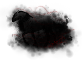 Black horse 2 by Xx-tatooz-xX