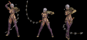 Ivy Valentine Poses by WOLFBLADE111