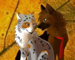 AT: Autumn Pair by Lost-Wolf-Soul
