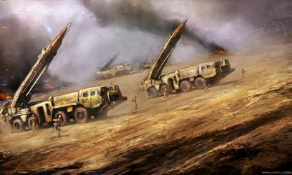 SCUD missile launcher by Darkcloud013