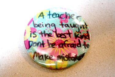 Button: Teaching by CreativEnergy