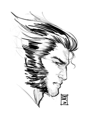 4AM Sketch: Wolverine by DaggerPoint
