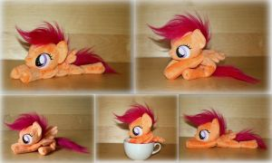 My Little Pony - Scootaloo - Beanie Plush by Lavim