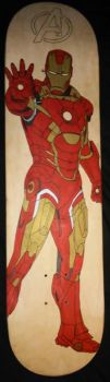 Iron Man color by chaz1179