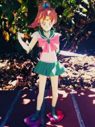 Sailor Jupiter papercraft by Amber2002161