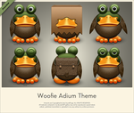Woofie Adium Theme Preview by SoundForge
