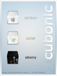 Cubonic icons by mat-u