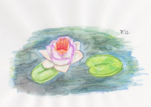 Water Lily by TheLittlePsycho