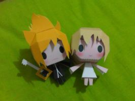 roxas and namine by margarethere
