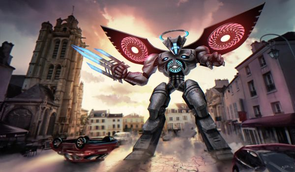 Pacific Rim Uprising - Virtue Omega in Pontoise by FabienMater