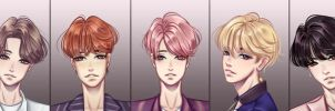 BTS Wings by Tenshi11-chan