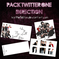 Pack Twitter One Direction by KatheFelton
