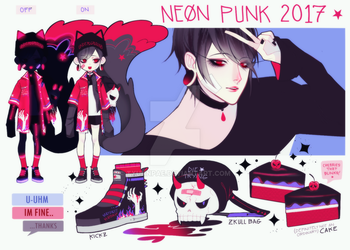 NEONPUNK - KEEGAN [CLOSED] by txunnpae