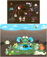 [PKMNation] March 2018 Week 1 - Spring Mood by tarje