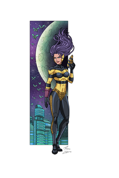 Queen Bee commission by phil-cho