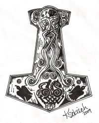 Thor's Hammer by sobie182
