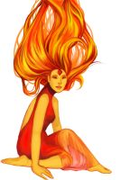 Flame Princess by Kambari-bum