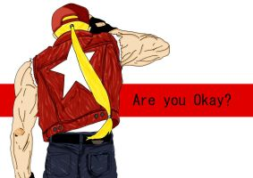 Terry Bogard - Are you Ok? by Snakethoot
