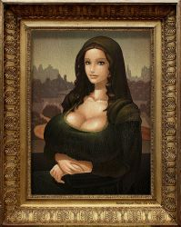 Mona No Lisa by Balsamique