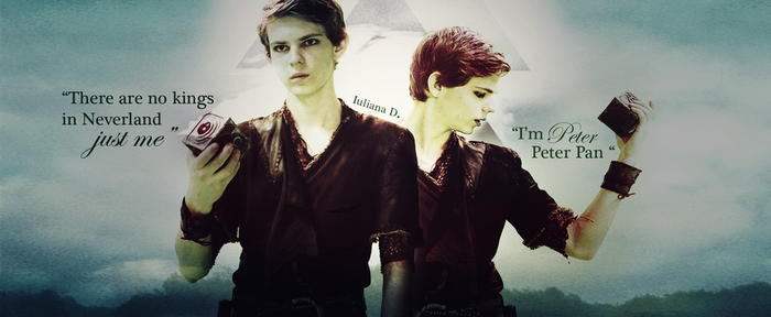 Once upon a time : Peter Pan by Iuliana4711