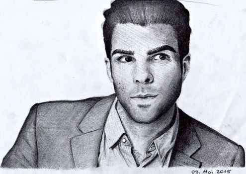 Zachary Quinto by x-FallenLeaves-x