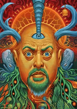 Bill Bailey / Mastodon by MattDixon