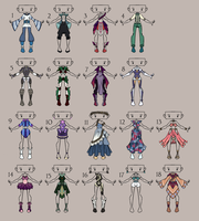 Outfit Adoptable Leftovers - OPEN - (2/18) by imaginary-shops