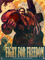 FIGHT FOR FREEDOM against SOPA and PIPA by Guardian54