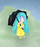 It's Raining by kangaroo722