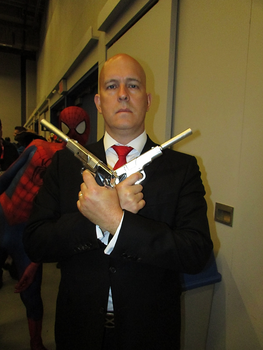 Agent 47 - Montreal Comic Con 2017 by J25TheArcKing