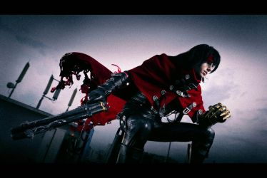 Final Fantasy Vll - Vincent Valentine by darcywilliam
