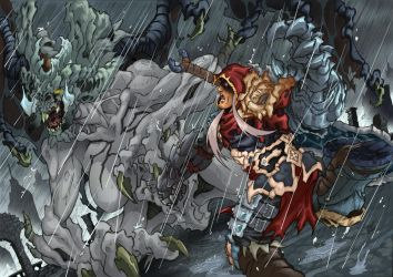 Darksiders by Joelchan