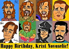 Happy Birthday Krist! by biel12