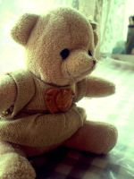 Teddy bear by Hrasulee