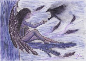 Friend of the crows by Serch2