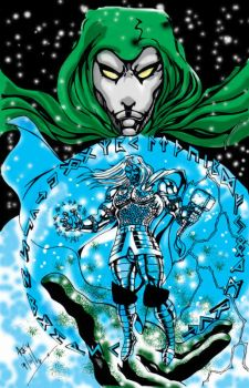 Rune Thor and Spectre coloured by adey01